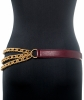 Gucci Vintage Triple Row Chain Link Belt - Gucci