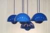 Verner Panton, Flowerpot ceiling light, executed by Louis Poulson, design 1968 - Verner Panton