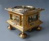 Een Renaissance Tischuhr / tafelklok met één wijzer, David Weber, Augsburg circa 1650.