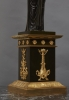A single French 'Empire' lamp stand (fitted for electricity), circa 1810