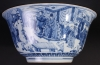 Extremeley large Chinese blue and white Kangxi bowl