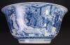 Extremeley large Chinese blue and white Kangxi bowl
