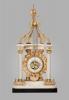 Imposing Monumental Louis XVI Temple Mantel Clock, circa 1780