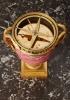 An unusual Rhodonite Annular French Urn Clock, circa 1880