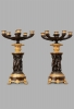 A good decorative pair of French Charles X candelabres, circa 1830