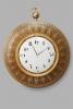 A hugely decorative French 'Empire' wall clock, circa 1820