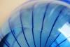 Willem Heesen, Blue glass plate, 1991 - Willem Heesen