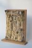 Lies Cosijn, Ceramic triptych on wooden boards, 1997 - Lies Cosijn