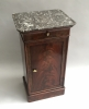Louis Philippe mahogany bedside table