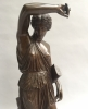 Bronze statue of a Amazone by Barbedienne