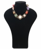 Philippe Ferrandis Gripoix Poured Glass Brown Metal Necklace - Philippe Ferrandis