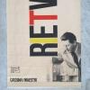 Cassina I Maestri, Fair Milaan, Gerrit Rietveld exhibition banner, 1988 - Cassina