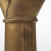 Jan van der Vaart, Brons geglazuurde steengoed vaas, multipel, ontworpen en uitgevoerd in eigen atelier, 1999 - Jan van der Vaart