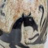 Roger Guerin, Zeldzame vloervaas met decor van paarden, jaren '50 - Roger Guerin