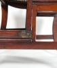 A Regency Mahogany Metamorphic Library Chair/Steps