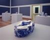 Babs Haenen, Porseleinen tafelstuk 'Expanding Space', ter nagedachtenis van Benno Premsela, 1998 - Babs Haenen
