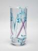 Jaap Gidding, Dutch Art Deco stained glass vase, ca. 1927 - Jaap Gidding