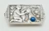 Fons Reggers, Zilveren broche 'Waterman', RR4, jaren '20 - Fons Reggers