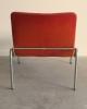 Kho Liang Ie, stoel met verchroomd metalen frame, model 703, ontwerp 1968 - Kho Liang Ie
