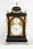 A small English table clock by Marriott London, circa 1770