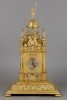 German Renaissance Vertical Astronomical Table Clock