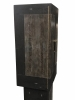 F07 R&Y Augousti Shagreen and Ostrich leather covered cabinet