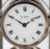 A French nickel plated Reutter atmos clock, circa 1933