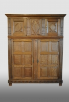 Dutch renaissance cupboard, 17th century.