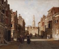Street scene in Middelburg