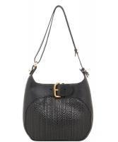 Delvaux Black Souverain Toile de Cuir Shoulder Bag - Delvaux