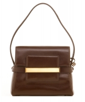 Delvaux Vintage Brown Leather Handbag