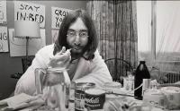 4- John Lennon @ Yoko Ono Hilton  Amsterdam