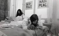 7 -  John Lennon and Yoko Ono Hilton Amsterdam, 1969