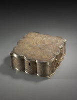Filigrain zilver doos, China Qing dynasty kunst