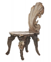 Venetian 'Grotto' Side Chair