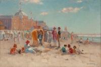 A Sunny Day on the beach of Scheveningen