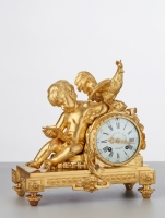 A classic early Louis XVI pendule by Charles du Tetre, circa 1780