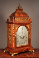 An impressive mahogany table clock by James Crossley London, circa 1780.