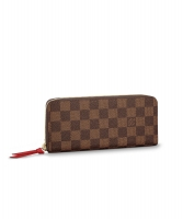 Louis Vuitton Clémence Wallet Damier Ebene - Louis Vuitton