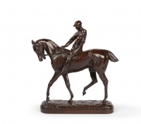 Jockey and his horse