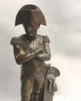 Bronzen beeld van Napoleon Buonaparte