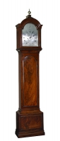 A fine English mahogany longcase clock Dwerrihouse Berkley Square London circa 1780