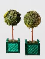 Plantenbak Duo Groen Malachiet