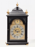 Dutch 18th century bracket clock