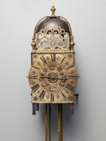 A French Provincial 18th century Lantern Clock, circa 1730