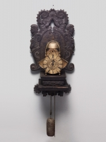 An English Striking Wing Lantern clock, circa 1720