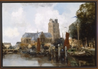 The Harbour of Dordrecht - W.G.F. Jansen