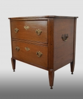 small Dutch commode, oak.