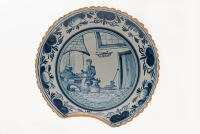 Blue Delft Barber Bowl
