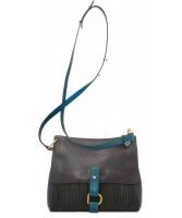 Delvaux Toile De Cuir Shoulder Bag